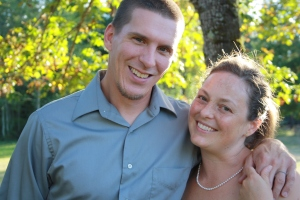 My hubby & I, still going strong after 17 years of marriage.