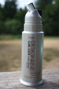 REGIS: Designline Curl Lock Cream will keep the frizz away while keeping your curls soft and bouncy.