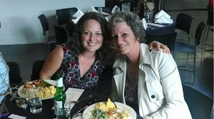 Tacoma Art Museum treats their volunteers to a special volunteer appreciation dinner every year. It's amazing! I took my Mom last year and my friend, Michelle, this year.