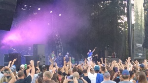 "Slightly Stoopid at Marymoor Park in Redomnd, WA. ""Everything is Awesome"" tour."